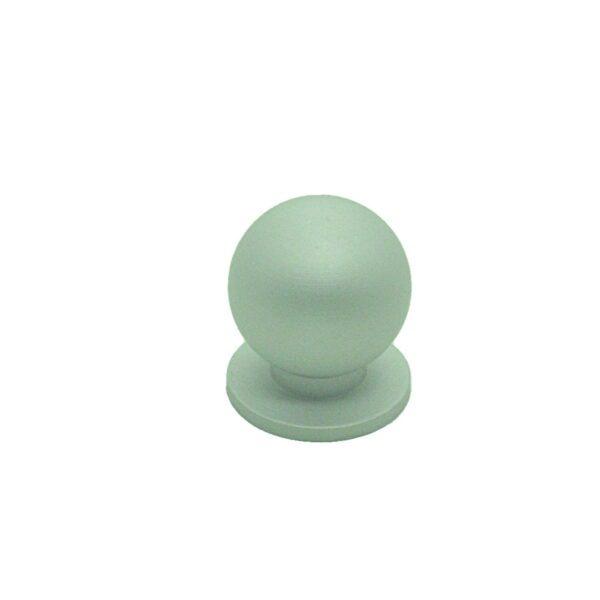 Ручка мебельная кнопка RK.A.1333.24.SC матовый хром