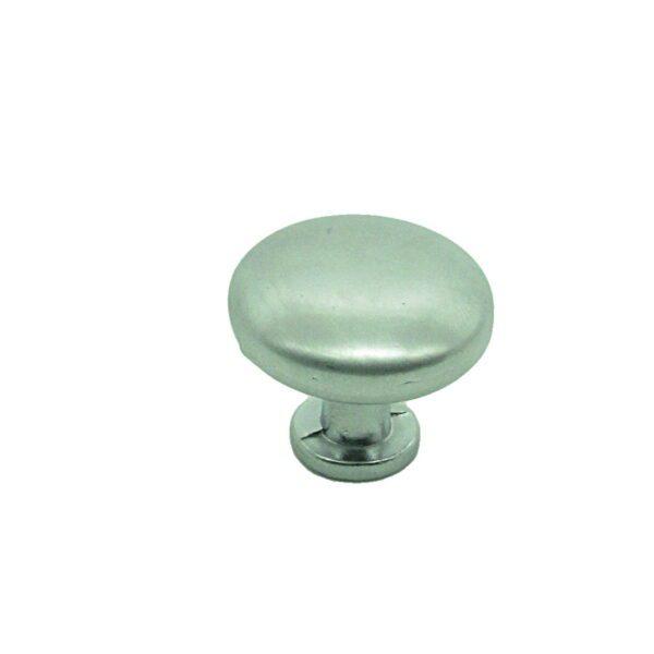 Ручка мебельная кнопка RK.A.1264.28.SC матовый хром