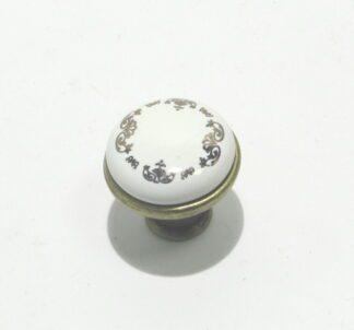 Ручка мебельная кнопка BR 33426 кнопка золото...