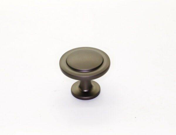 Ручка мебельная кнопка RK.1225.30.GF графит